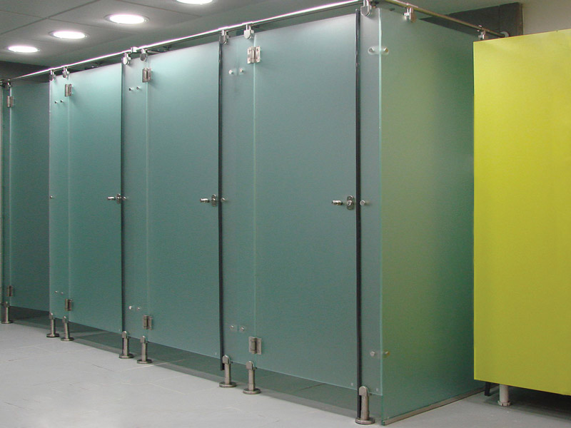 Cabinas de vidrio para wc
