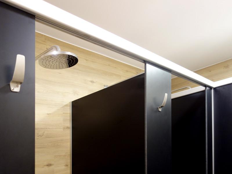 Cabina fenólica para ducha