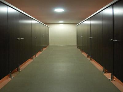 Cabinas de hpl para wc
