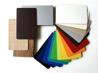 Amplia gama de colores en fenólico